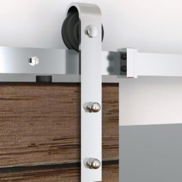 Flat Rail Barn Door Hardware
