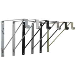 Rod Support and Shelf Brackets